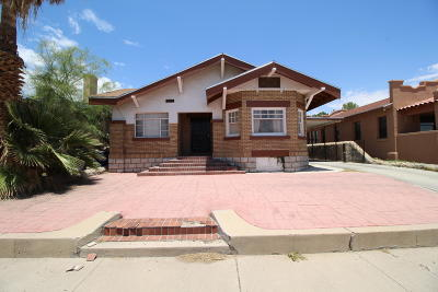El Paso Single Family Home For Sale: 3315 Montana Avenue