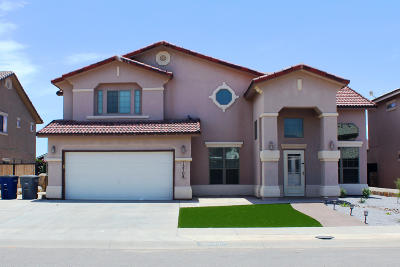 El Paso Single Family Home For Sale: 12708 Tierra Lily Court