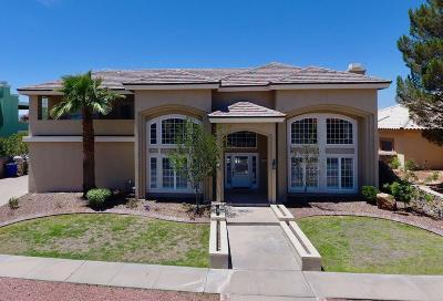 El Paso Single Family Home For Sale: 6570 Eagle Ridge Drive