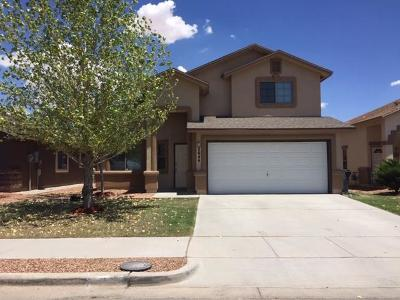 El Paso Single Family Home For Sale: 2644 Stone Rock Street