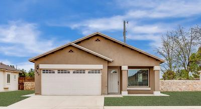 Socorro Single Family Home For Sale: 11636 Flor Achillea Drive