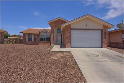 Horizon City Single Family Home For Sale: 14569 Desierto Lindo Avenue