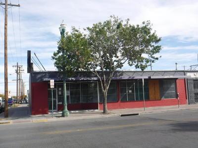 El Paso Commercial For Sale: 600-604 S Stanton Street