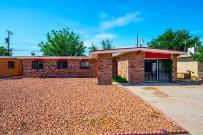El Paso TX Single Family Home For Sale: $119,995