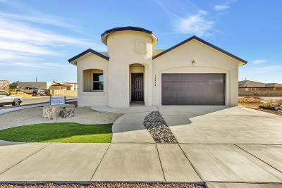 Horizon City Single Family Home For Sale: 1753 Breeder Cup Way