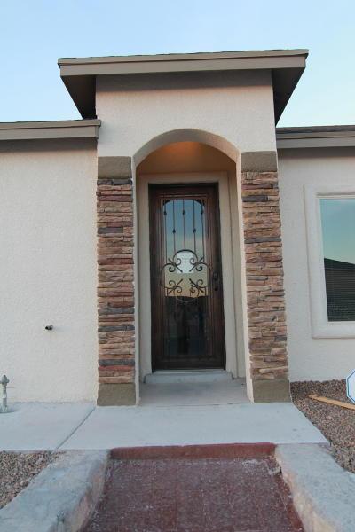 Horizon City Single Family Home For Sale: 808 Chillington Road