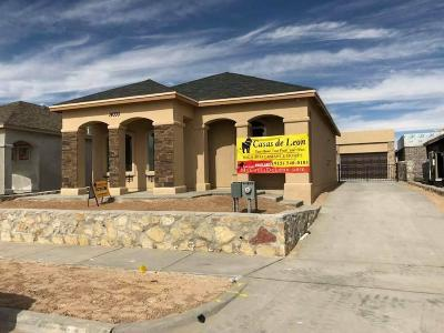 Horizon City Single Family Home For Sale: 14372 Seth Payne Drive