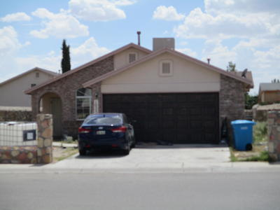 El Paso Single Family Home For Auction: 10252 Valle Rico Drive