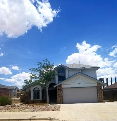 Vista Del Sol Single Family Home For Sale: 1448 Rebecca Ann Drive