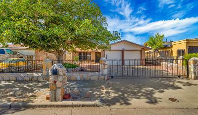 El Paso Single Family Home For Sale: 4886 Maureen Circle Circle