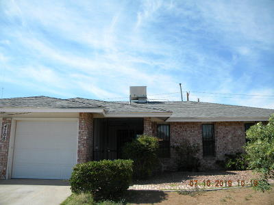 El Paso Single Family Home For Sale: 4708 Aries Drive