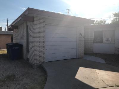 El Paso Single Family Home For Sale: 2116 Cumbre Negra Street