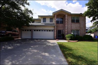 El Paso Single Family Home For Sale: 5924 Via Norte Lane