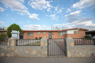 El Paso Single Family Home For Sale: 9512 Beals Street