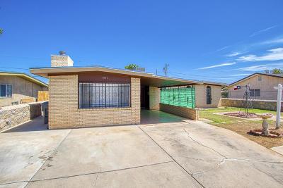 El Paso Single Family Home For Sale: 6017 Quail Avenue