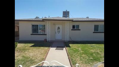 El Paso Single Family Home For Sale: 7868 Clover Way