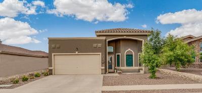 Horizon City Single Family Home For Sale: 511 Kestrel Avenue