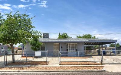 El Paso TX Single Family Home For Sale: $129,900