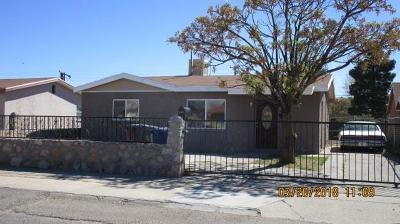 El Paso Single Family Home For Sale: 628 Francis Street