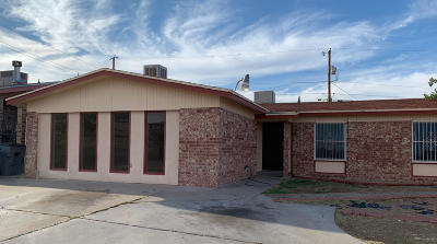 El Paso Single Family Home For Sale: 4005 Edgar Park Avenue