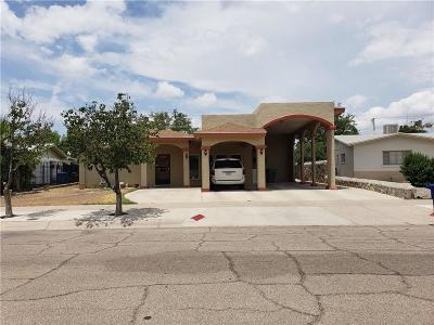 El Paso Single Family Home For Sale: 1305 Likins Drive