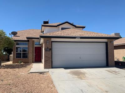 El Paso Single Family Home For Sale: 12192 Sun Bridge Place