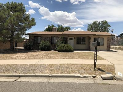 El Paso Single Family Home For Sale: 1621 Gene Torres Drive
