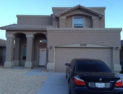 El Paso Single Family Home For Sale: 12740 Raul Mendiola Lane