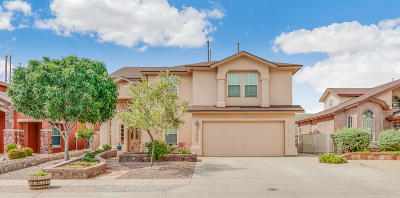 El Paso Single Family Home For Sale: 12445 Tierra Laurel Drive