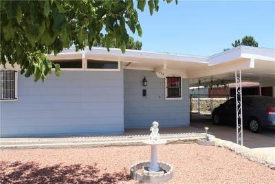 El Paso Single Family Home For Sale: 6243 Algonquin Road
