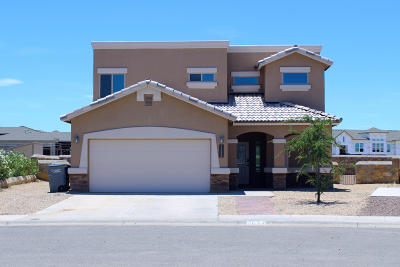 El Paso Single Family Home For Sale: 7628 Dawnlight Lane