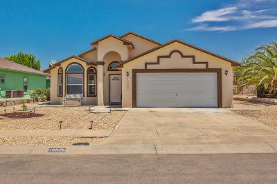 El Paso Single Family Home For Sale: 12525 Tierra China Court