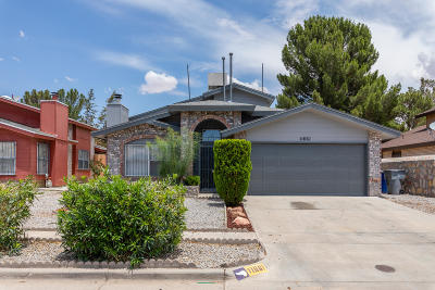 El Paso Single Family Home For Sale: 11661 Cayuga Circle