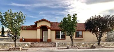 El Paso Single Family Home For Sale: 12489 Robert Dahl Dr Drive