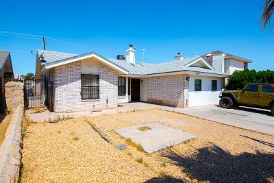 El Paso Single Family Home For Sale: 1789 Dean Jones