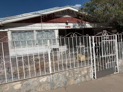 El Paso Single Family Home For Sale: 2816 N N Piedras Street