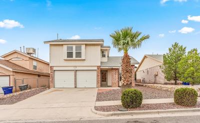 El Paso Single Family Home For Sale: 11720 Corona Crest Avenue