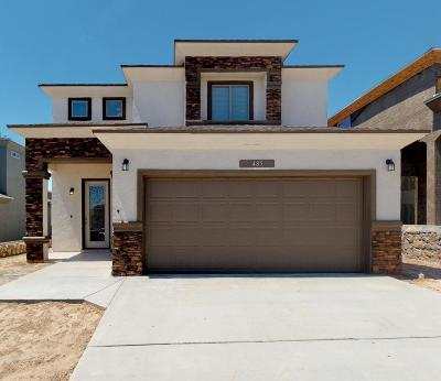 El Paso Single Family Home For Sale: 412 Indigo Court