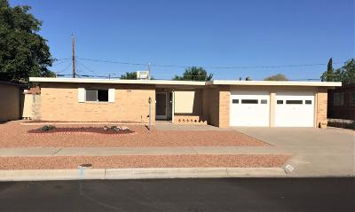 El Paso Single Family Home For Sale: 3215 Lorne Road