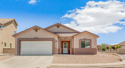 El Paso Single Family Home For Sale: 14324 N North Cave Drive