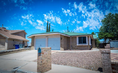 El Paso Single Family Home For Sale: 2223 Robert Wynn Street