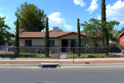 El Paso Single Family Home For Sale: 209 E Borderland Road