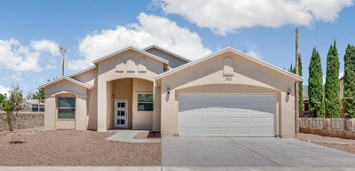 Anthony Single Family Home For Sale: 703 Margarita Street
