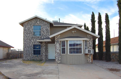 El Paso Single Family Home For Sale: 11961 Kings Guard Drive