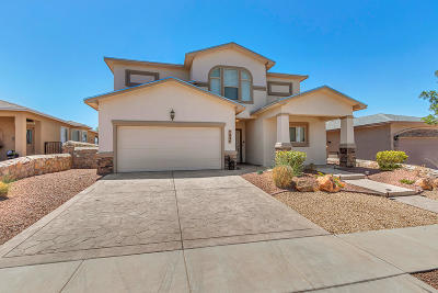 El Paso Single Family Home For Sale: 7234 Longspur Drive