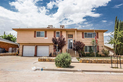 El Paso Single Family Home For Sale: 10148 Monaco Drive
