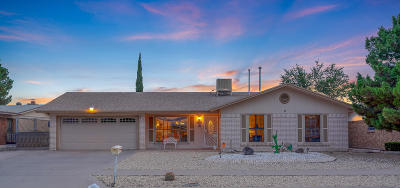 Vista Del Sol Single Family Home Pending Accepting Offers: 11016 Bob Stone Drive