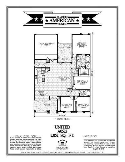 Single Family Home For Sale: 2817 Maria Casas Street