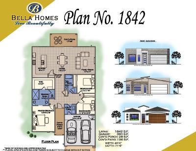 El Paso Single Family Home For Sale: 12341 Desert Dove Avenue