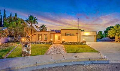 El Paso Single Family Home For Sale: 1909 Crow Drive